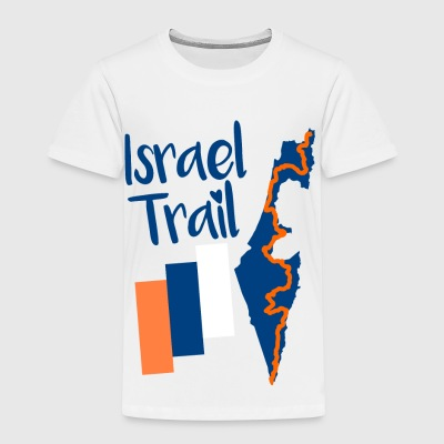 Israel Trail Map Motif - Kids' Premium T-Shirt