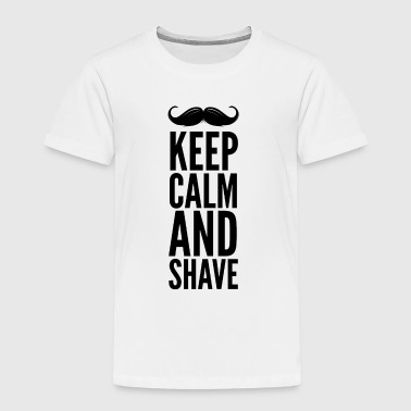 Stay calm and shave your beard, Movember - Kids' Premium T-Shirt