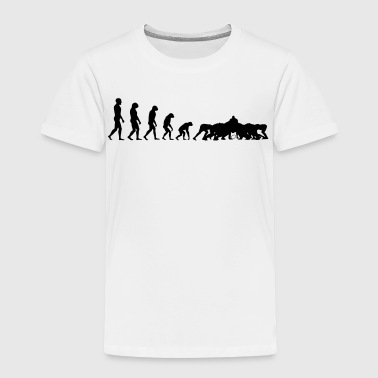 Evolution Rugby - Scrum - Kids' Premium T-Shirt
