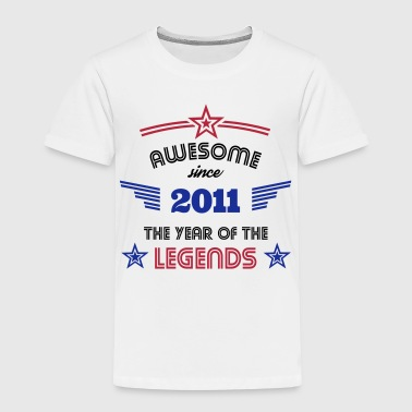 Awesome since 2011 - Kinder Premium T-Shirt