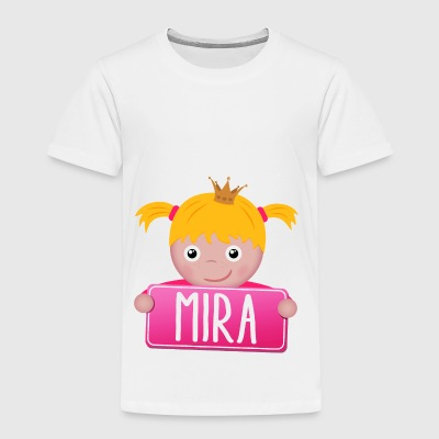 Little princess Mira - Kids' Premium T-Shirt