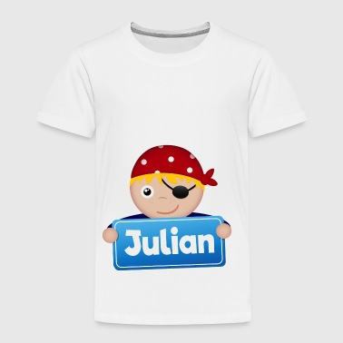 Kleiner Pirat Julian - Kinder Premium T-Shirt