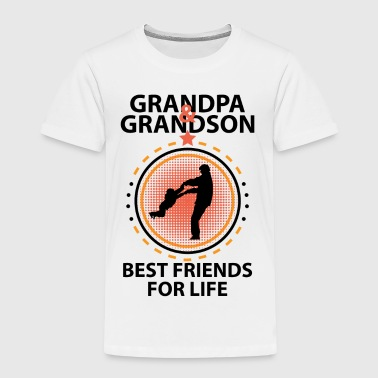 Grandpa And Grandson Best Friends For Life - Kids' Premium T-Shirt
