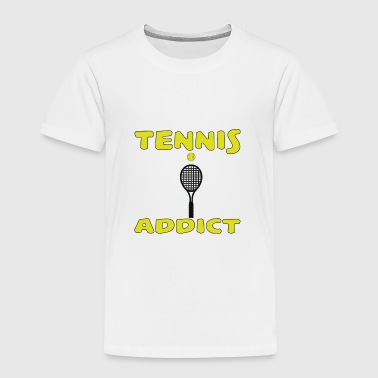 Tennis addict - Premium-T-shirt barn