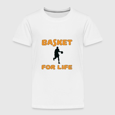 Basket for life - Kinderen Premium T-shirt