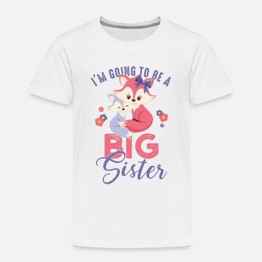 Storesøster storesøster rever søsken søt T skjorte barn