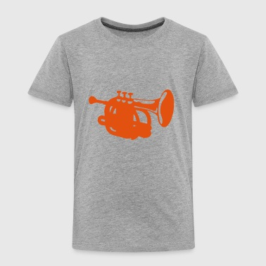 Trumpet instrument music 190315 - Kids' Premium T-Shirt