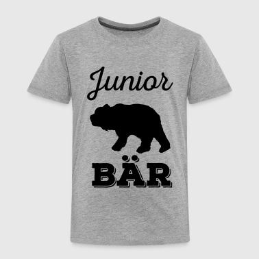 Junior Bär - Vater-Sohn Partnerlook Shirts - Kinder Premium T-Shirt