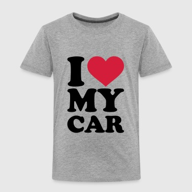 I love my car - Kinder Premium T-Shirt