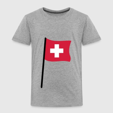 Swiss flag - Kids' Premium T-Shirt