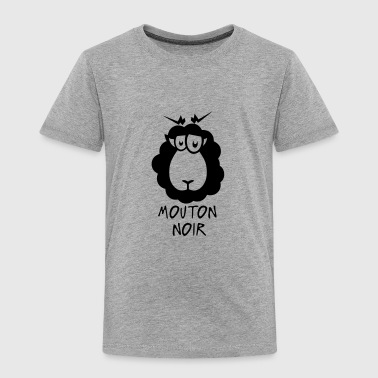 mouton noir citation dessin - T-shirt Premium Enfant