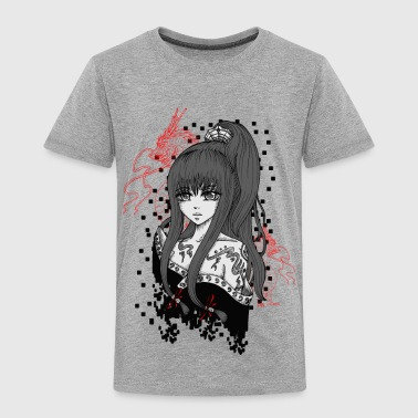 Anime/Manga-Girl - Kinder Premium T-Shirt