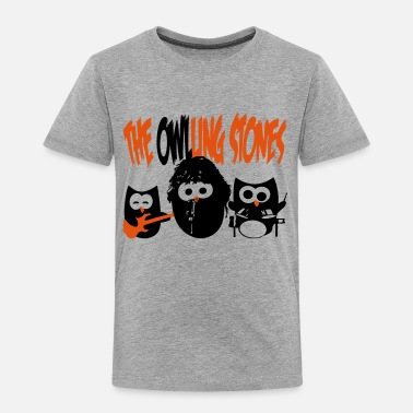 Rolling Stone the owling stones - Kinder Premium T-Shirt