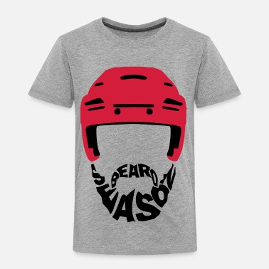 Ice Hockey Beard Ice Hockey Beard Season - Kids' Premium T-Shirt