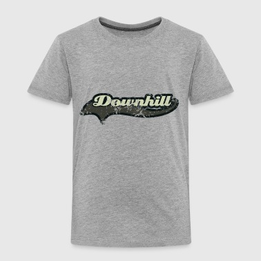 downhill schweif retro - Kinder Premium T-Shirt