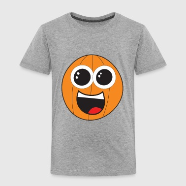 Basketball Cartoon - Kids' Premium T-Shirt