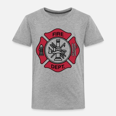 Fireman Fire Department Symbol - Kids' Premium T-Shirt