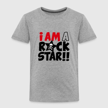 I am a  rock star - T-shirt Premium Enfant