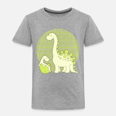 Egg Hatch Dinosaur Mom with Hatching Egg - Kids' Premium T-Shirt