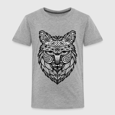 wolf head - limited edition - Premium T-skjorte for barn