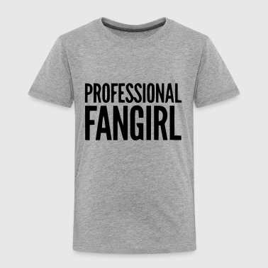 Groupie PROFESSIONELL FAN FLICKA GROUPIE - Premium-T-shirt barn