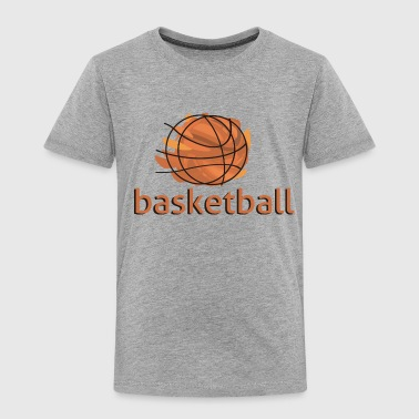 basketball-basket.png - Premium T-skjorte for barn