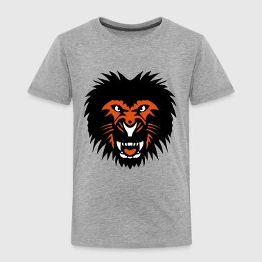 Lion beast animal head 902 - Kids' Premium T-Shirt