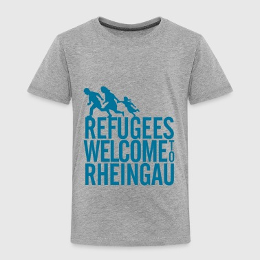 Refugees Welcome to Rheingau Pullover - Kinder Premium T-Shirt