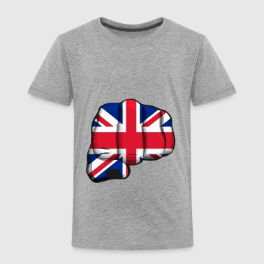 English clenched fist flag - Kids' Premium T-Shirt