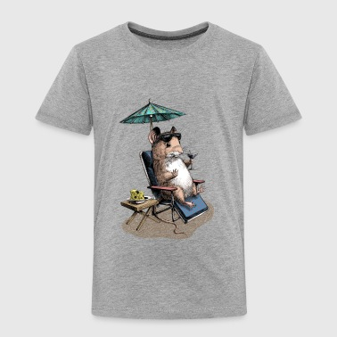 Mouse Cocktail Umbrella - Kids' Premium T-Shirt