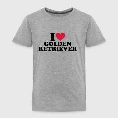 Golden Retriever - Kinder Premium T-Shirt