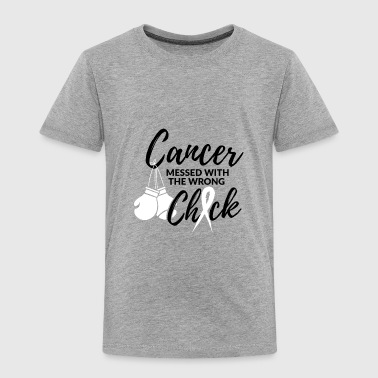 Cancer has messed with the wrong woman - Kids' Premium T-Shirt