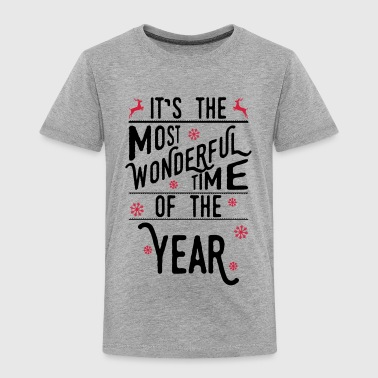 It's the most wonderful time of the year - Kids' Premium T-Shirt