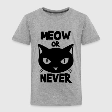 Meow or never - Kids' Premium T-Shirt