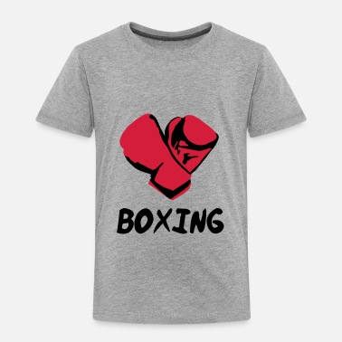 Boxing Gloves Boxing - Kinderen Premium T-shirt