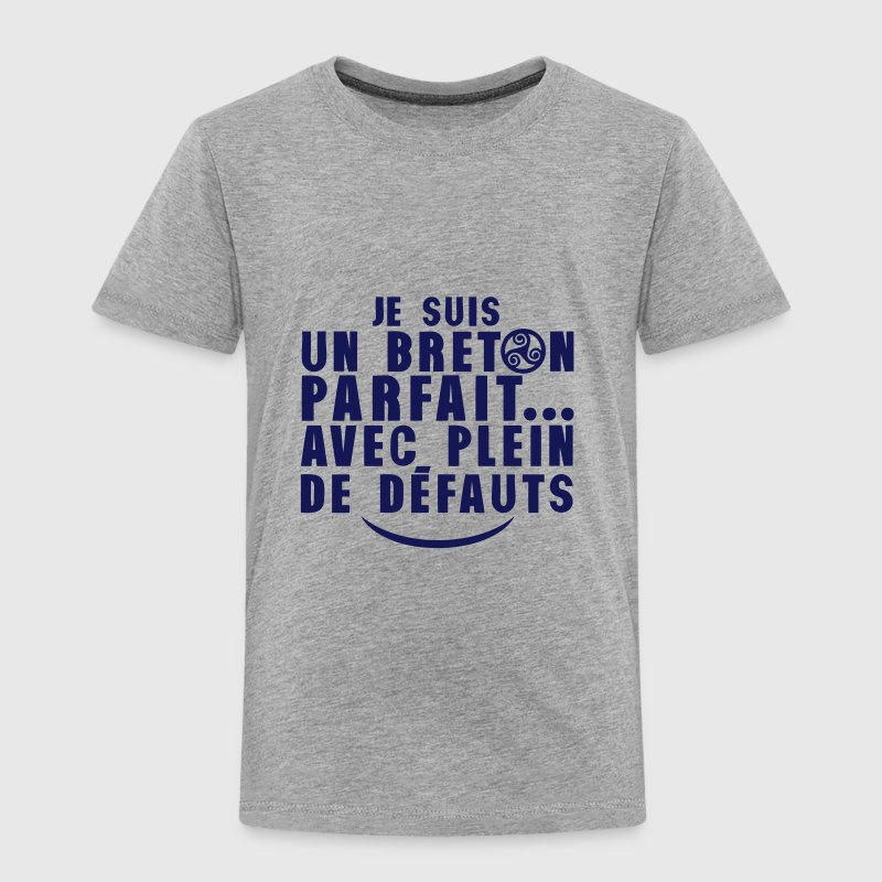 breton parfait plein defauts citation - T-shirt Premium Enfant