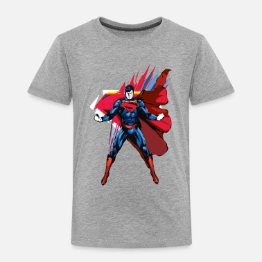 Superman Pose Men T-Shirt - Kinderen Premium T-shirt