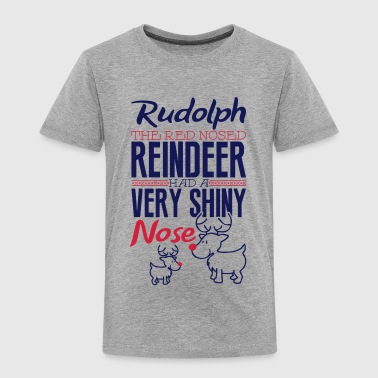 Red Nosed Reindeer Rudolph the red nosed reindeer - Kids' Premium T-Shirt