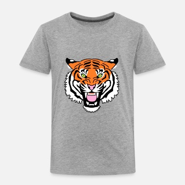 Tiger - Premium-T-shirt barn