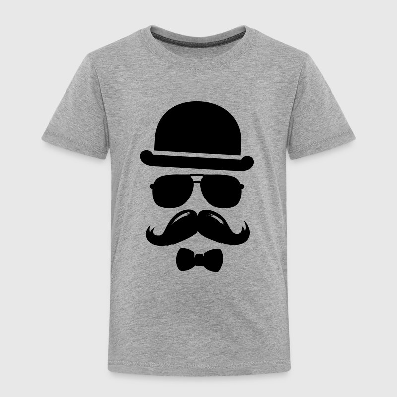 man father vaterstag hipster mustache swag boss - Kids' Premium T-Shirt