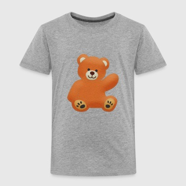 Felt Teddy - Kids' Premium T-Shirt