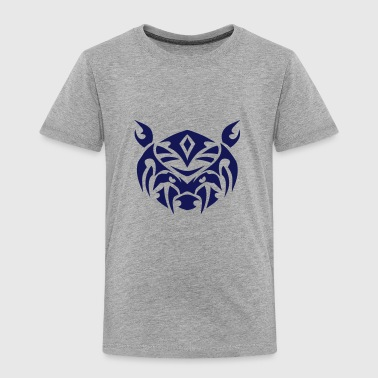 Tribal Bär Tattoo Kopf 9094 T-Shirts - Kinder Premium T-Shirt