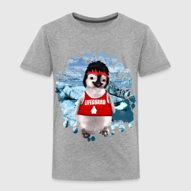 Lifeguard Pingu - Kinder Premium T-Shirt