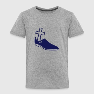 Funeral Shoe cross funeral 612 - Kids' Premium T-Shirt