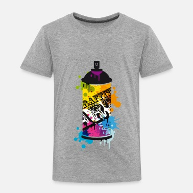 Spray Can A spray can in graffiti style  - Kids' Premium T-Shirt