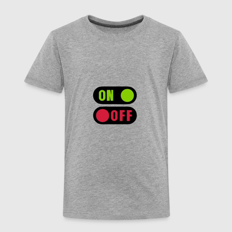 bouton on off 12 - T-shirt Premium Enfant