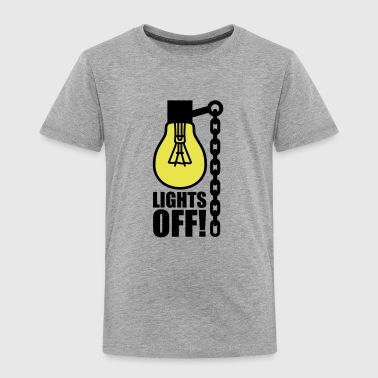 Lights off - Kinder Premium T-Shirt