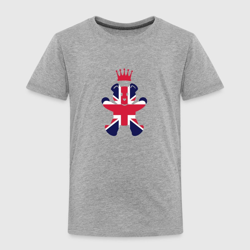 UK teddy princess (3c) - Kinder Premium T-Shirt