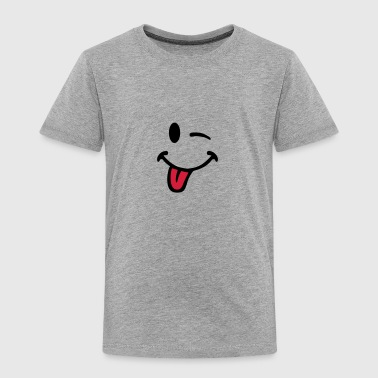 smiley tire langue 7012 - T-shirt Premium Enfant