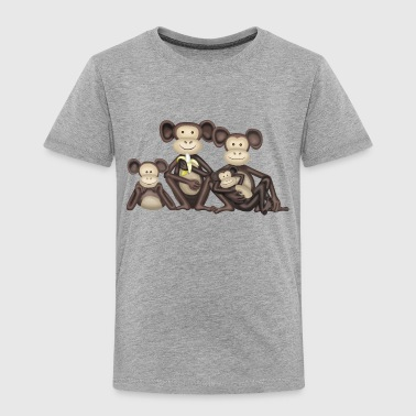 Monkey Family - Kids' Premium T-Shirt